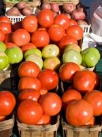 Image of baskets of vegetables
